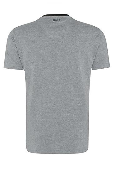 男士休闲时尚短袖T恤,  059_浅灰色