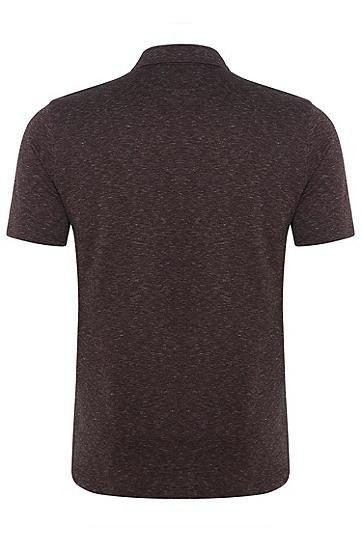 男士休闲POLO衫,  603_暗红色