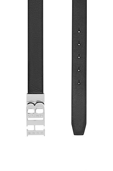 男士时尚商务logo个性腰带,  002_黑色