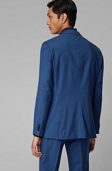 男士初剪羊毛修身西装,  479_淡蓝色