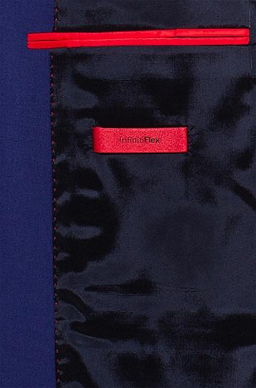 男士弹力初剪羊毛超修身西装,  431_亮蓝色