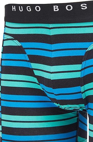 徽标裤腰平角内裤两条装,  999_实物颜色