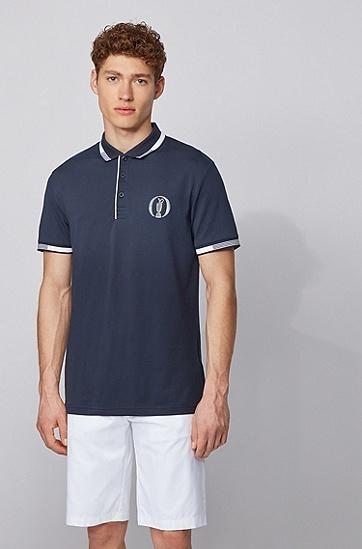 公开赛胶囊系列 S.Café® 面料 Polo 衫,  410_海军蓝色