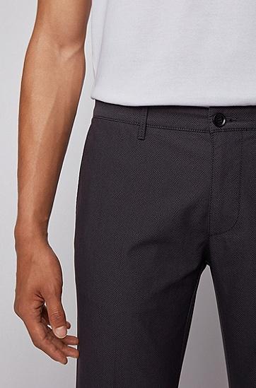 弹力棉常规版型休闲裤,  402_暗蓝色