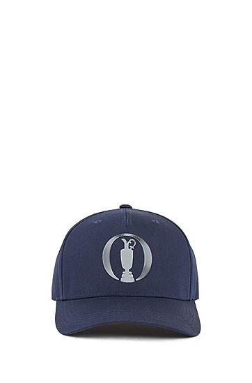 混棉斜纹 Open Exclusive 帽子,  410_海军蓝色