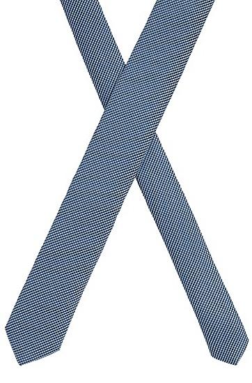 意大利制造微图案领带,  450_浅蓝色