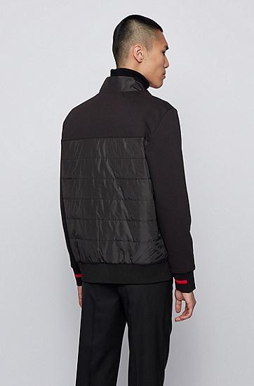 男士潮流运动衫,  001_黑色