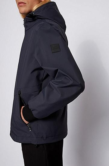三合一防水可拆卸背心夹克,  402_暗蓝色