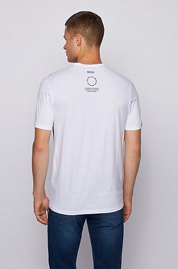 标准款休闲T恤,  100_白色