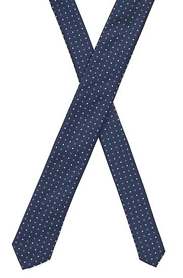 图案装饰时尚领带,  402_暗蓝色