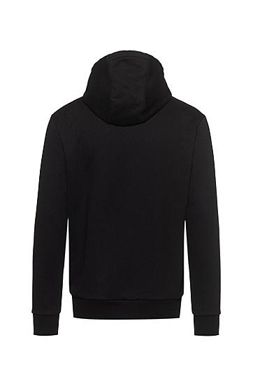 JUSTIN TEODORO系列星形男士卫衣,  001_黑色