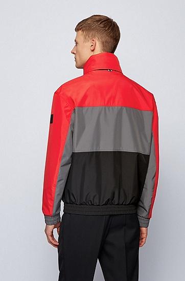 双层再生面料防水软壳夹克,  628_亮红色