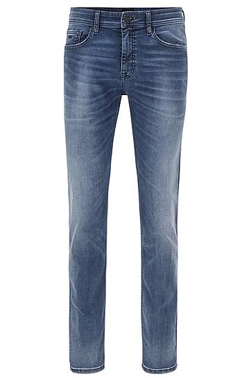 中蓝色超弹修身牛仔裤,  426_中蓝色