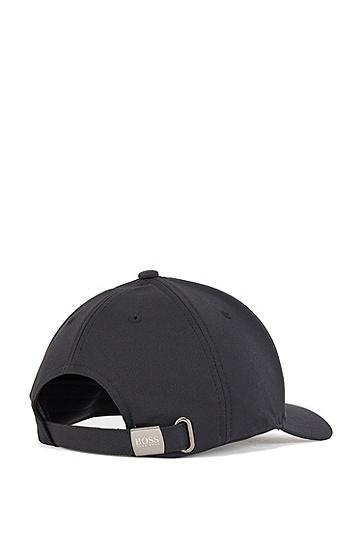 新季数字艺术图案斜纹布鸭舌帽,  001_黑色