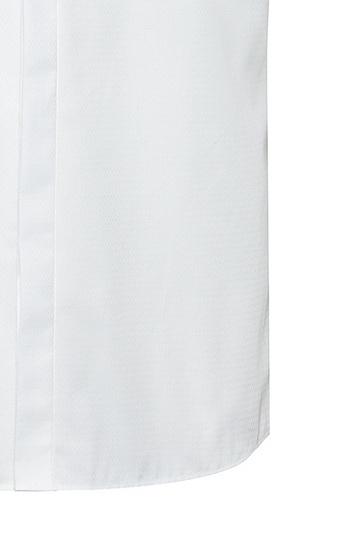 纹理棉修身晚宴衬衫,  199_淡白色
