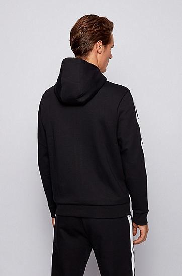 标准款罗纹袖口长袖外套,  001_黑色