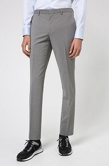 男士标准西装,  021_暗灰色