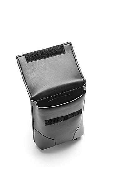 特色硬件配饰人造革小挎包,  001_黑色