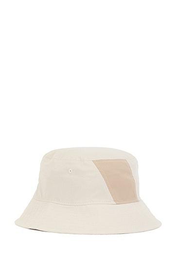 RUSSELL联名专属徽标图案装饰涂层棉质软毡帽,  272_Light Beige