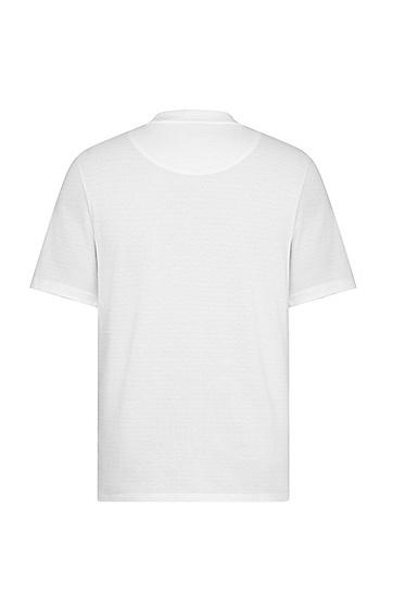 七夕胶囊系列微笑爱心图案男女T恤,  White