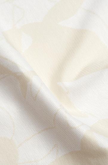 七夕胶囊系列江豚图案男女同款T恤,  White