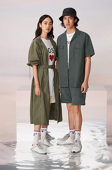 七夕胶囊系列情侣款休闲运动鞋,  White