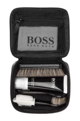 504a8833c7 BOSS - Kit d'entretien chaussures « VIAGGIO », sac en cuir de veau