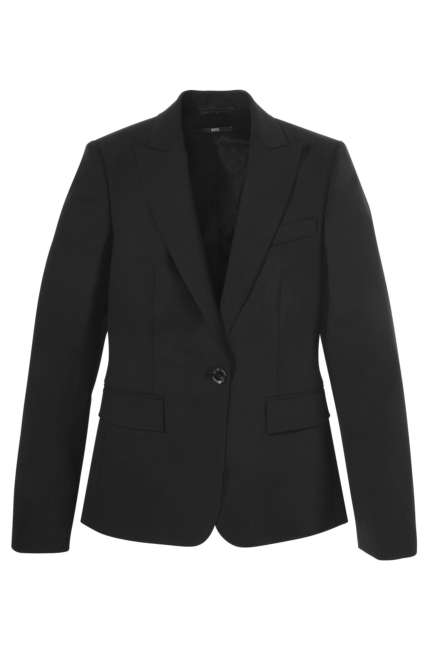Blazer ´Juicy 6` aus Schurwoll-Elasthan-Mix