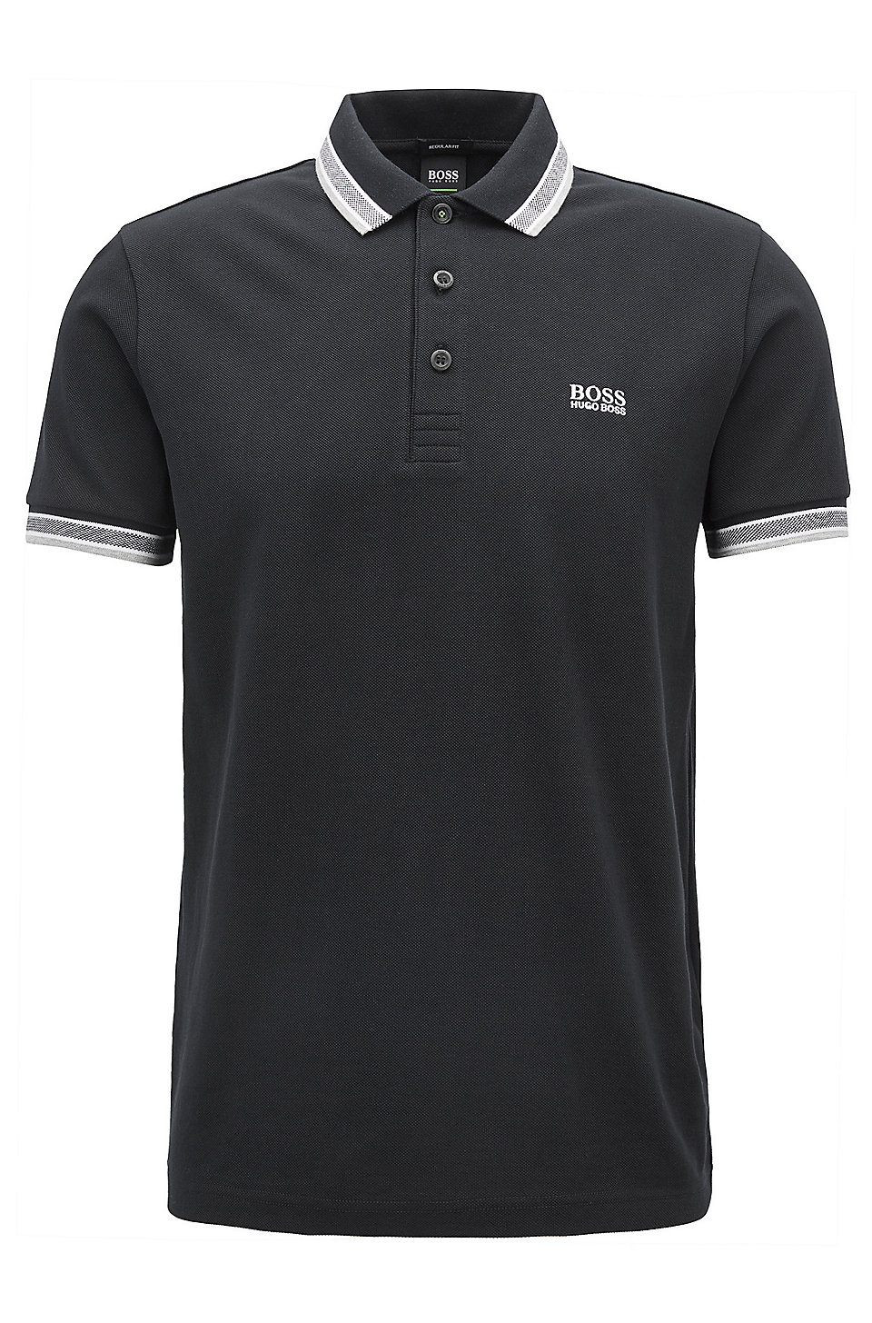 Polos Boss Hugo Boss noirs Casual homme