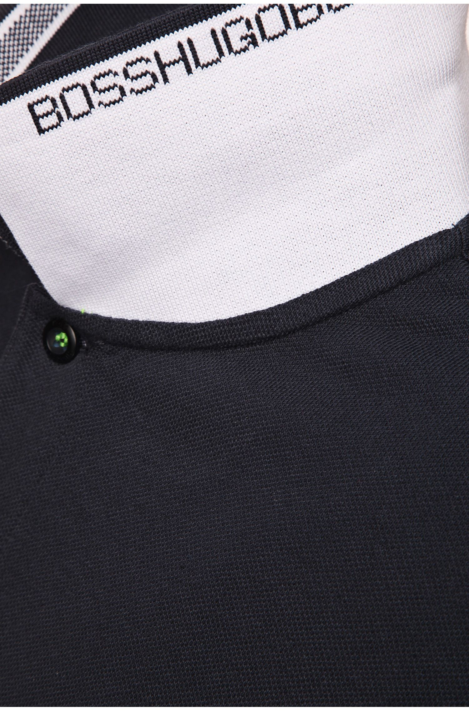 Polo regular fit con tapeta de 3 botones