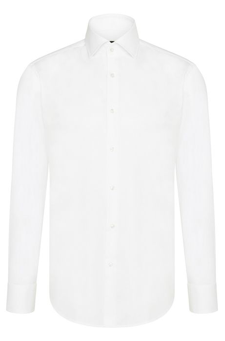 fit business shirt in cotton