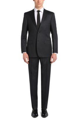 Comfort-Fit Anzug aus Schurwolle: 'Pasini2/Movie2', Dunkelgrau