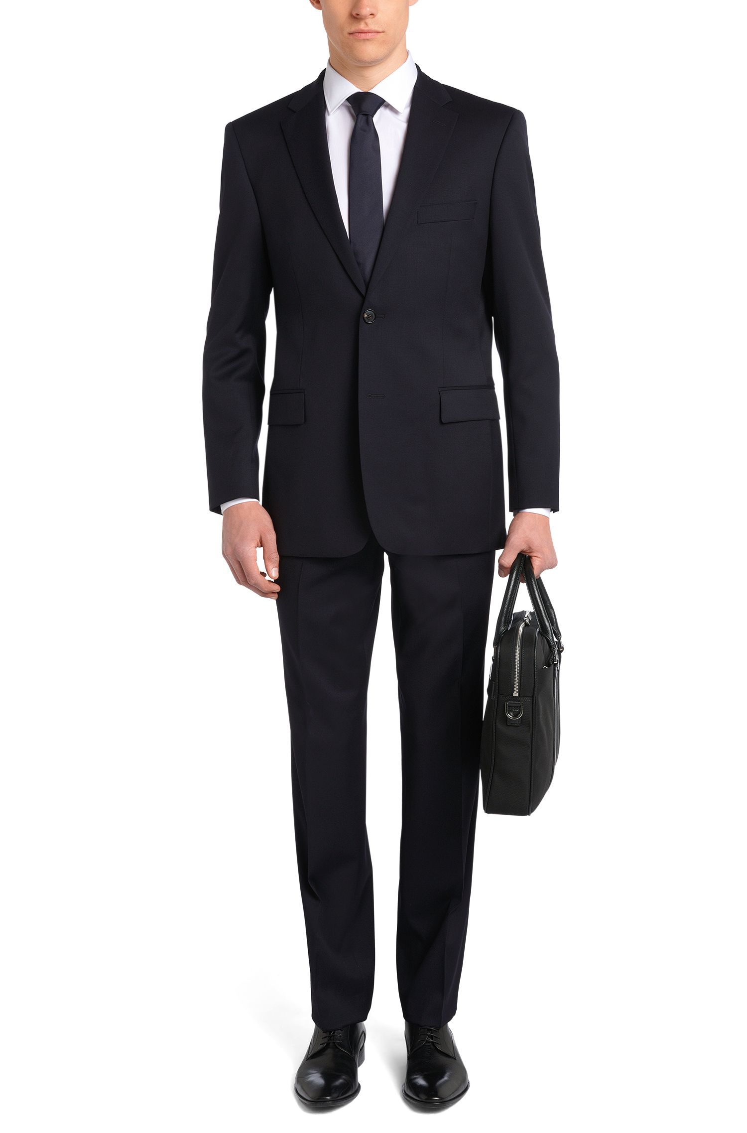 Comfort-Fit Anzug aus Schurwolle: 'Pasini2/Movie2'