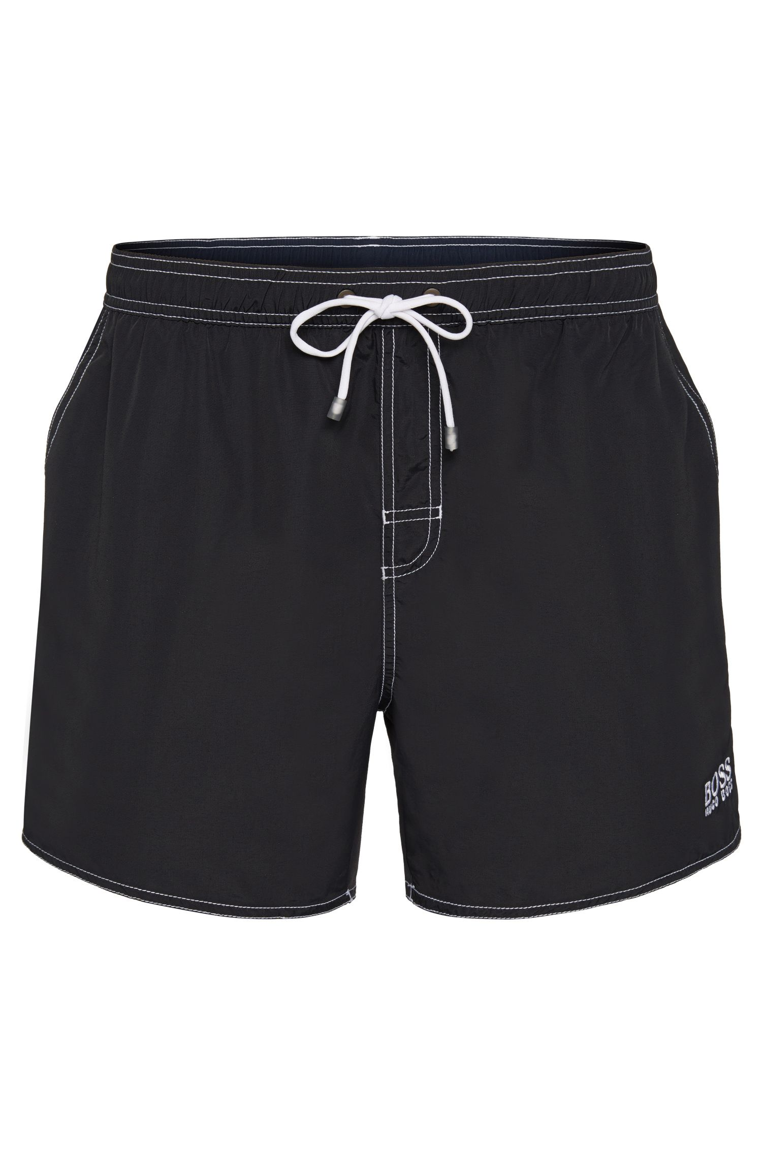 Swim shorts in a quick-drying material: 'Lobster BM'