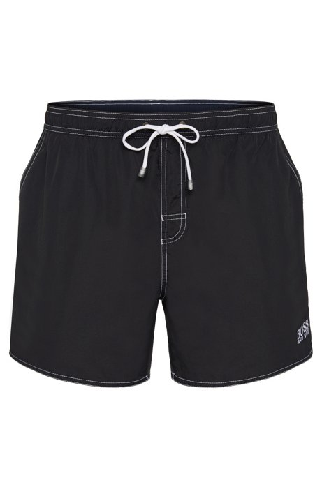 8aa5d46683a76 Swim shorts in a quick-drying material: 'Lobster BM', Black
