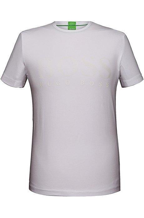 5fecc0bd29b11 BOSS - Camiseta  Tee US  en mezcla de algodón y elastano