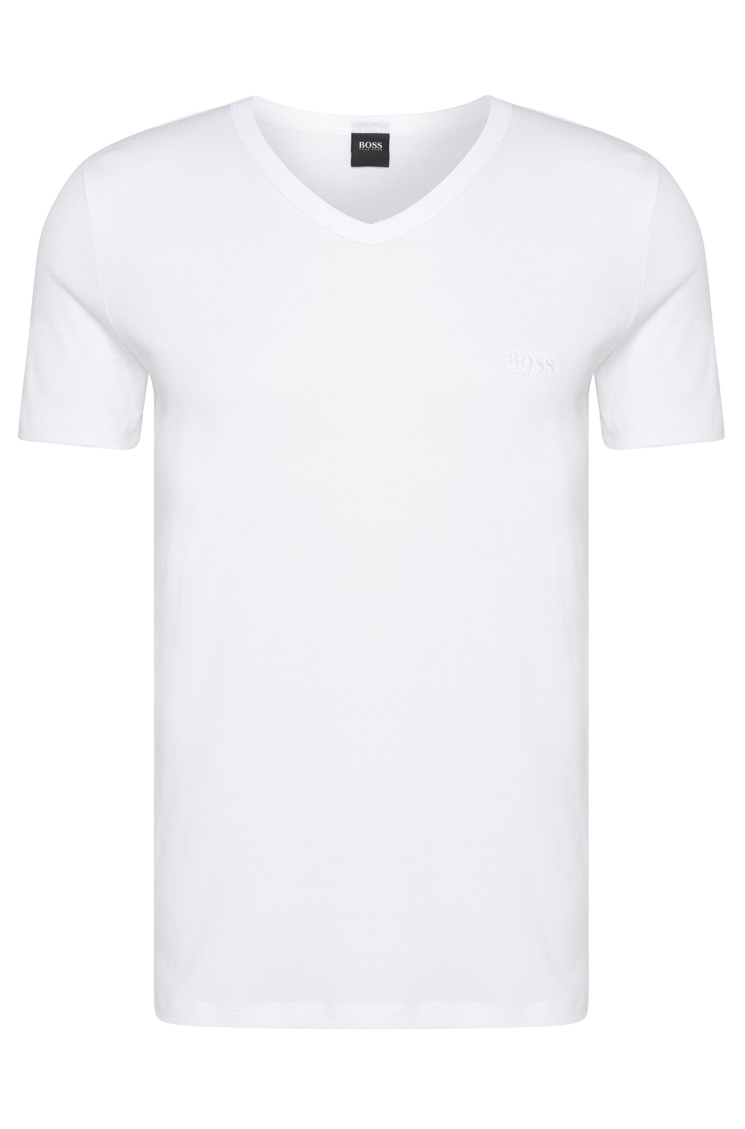 T-shirt Regular Fit en coton, Blanc