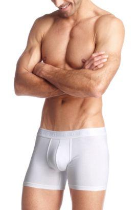 Boxer «Cyclist BM» à jambes courtes, Blanc