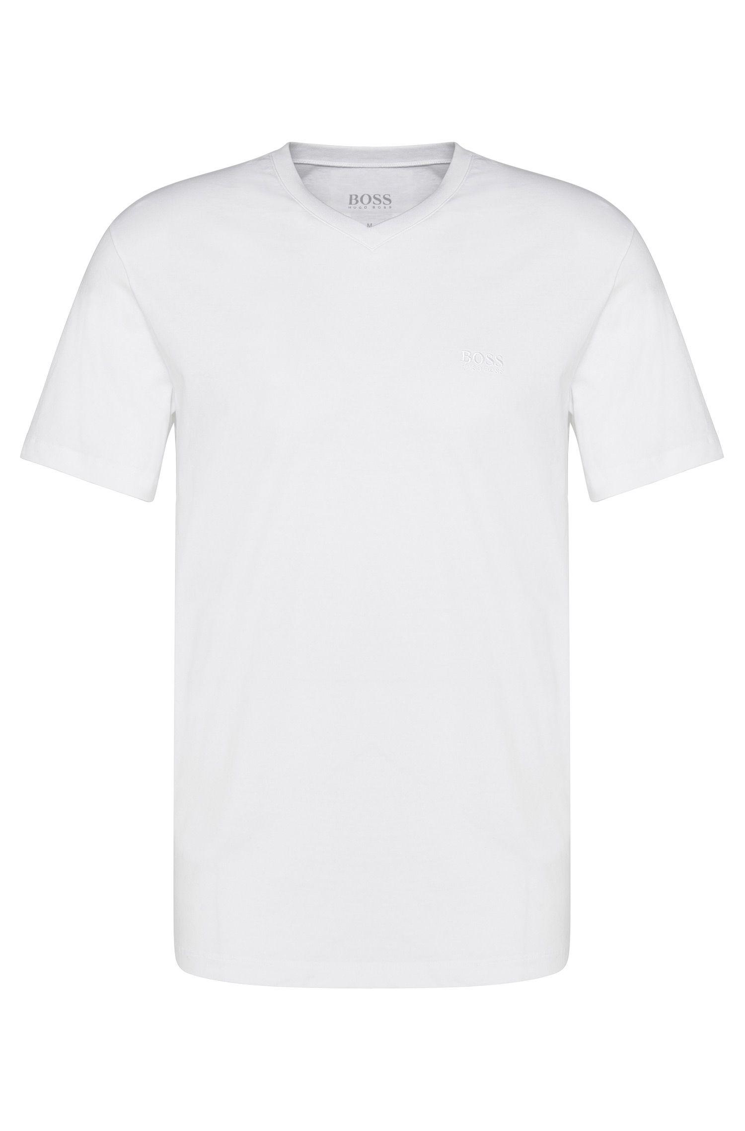 Regular-fit T-shirts van zuivere katoen in duopak