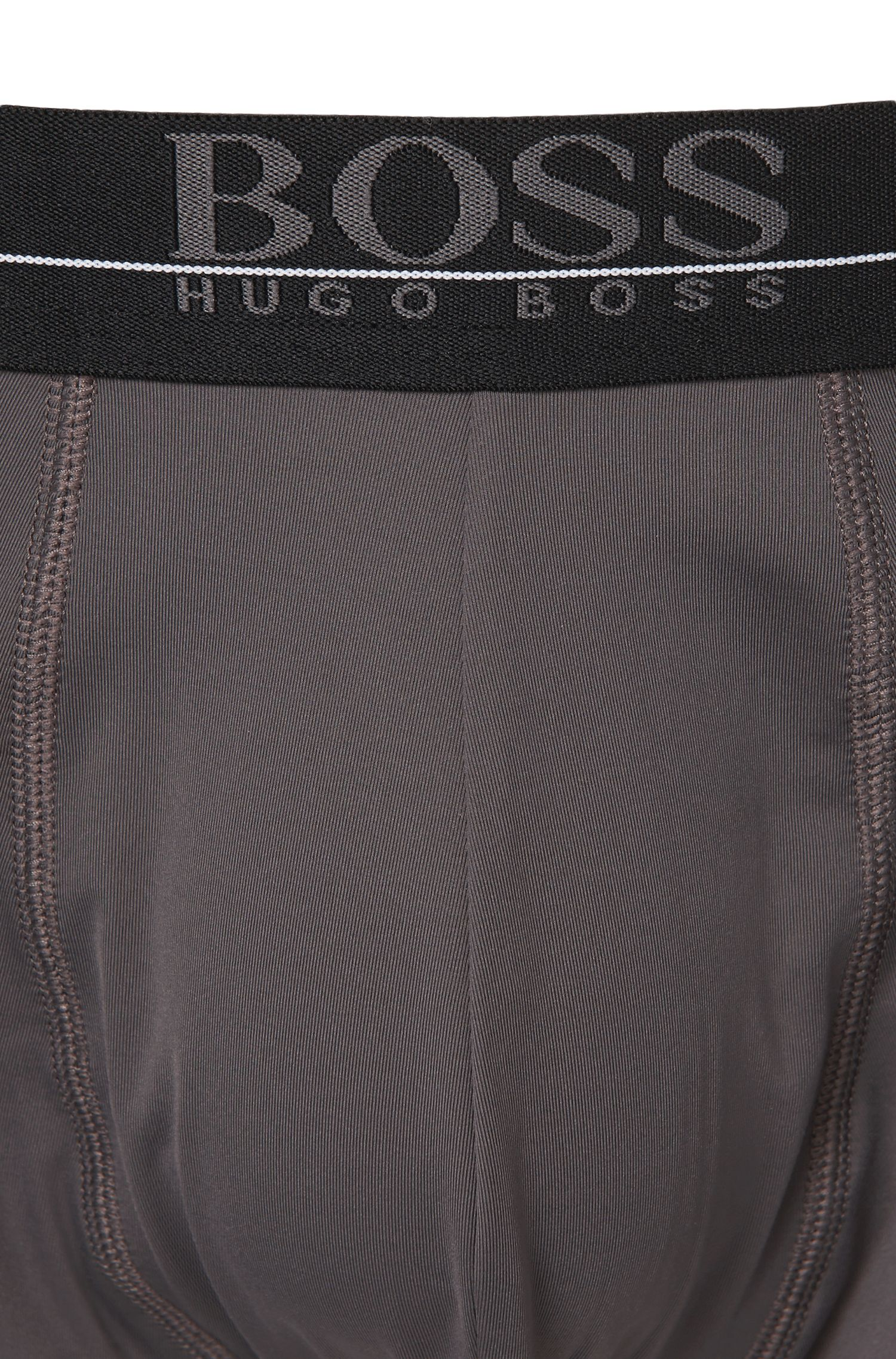 Regular-rise boxer briefs in stretch fabric