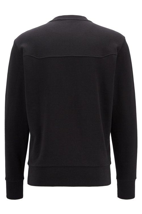 Hugo Boss - Sweatshirt aus French Terry mit Logo - 4