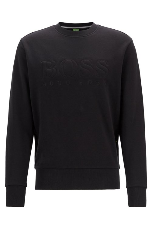Hugo Boss - Sweatshirt aus French Terry mit Logo - 1