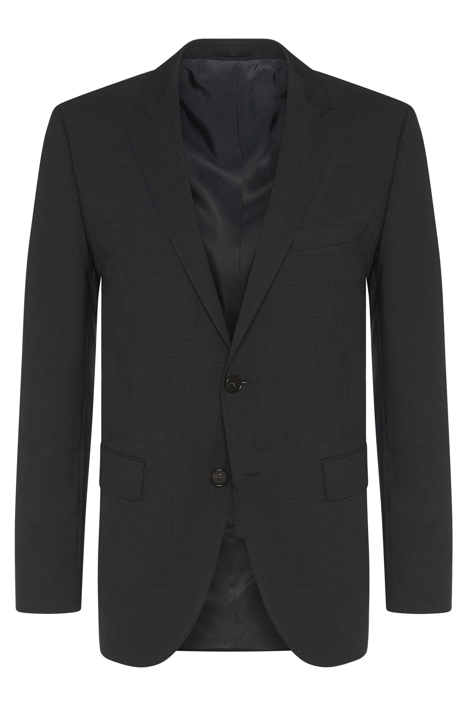 Veste de costume Regular Fit en laine vierge mélangée extensible: «TheRider»