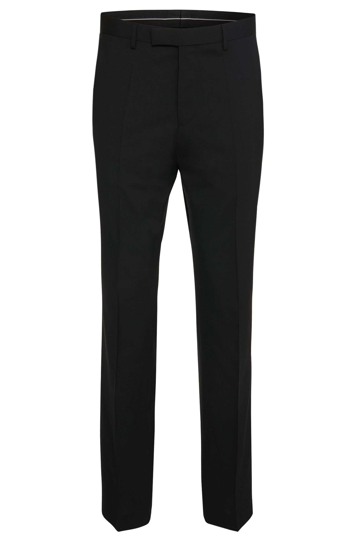 Pantalon Regular Fit en laine vierge stretch : « Shout »