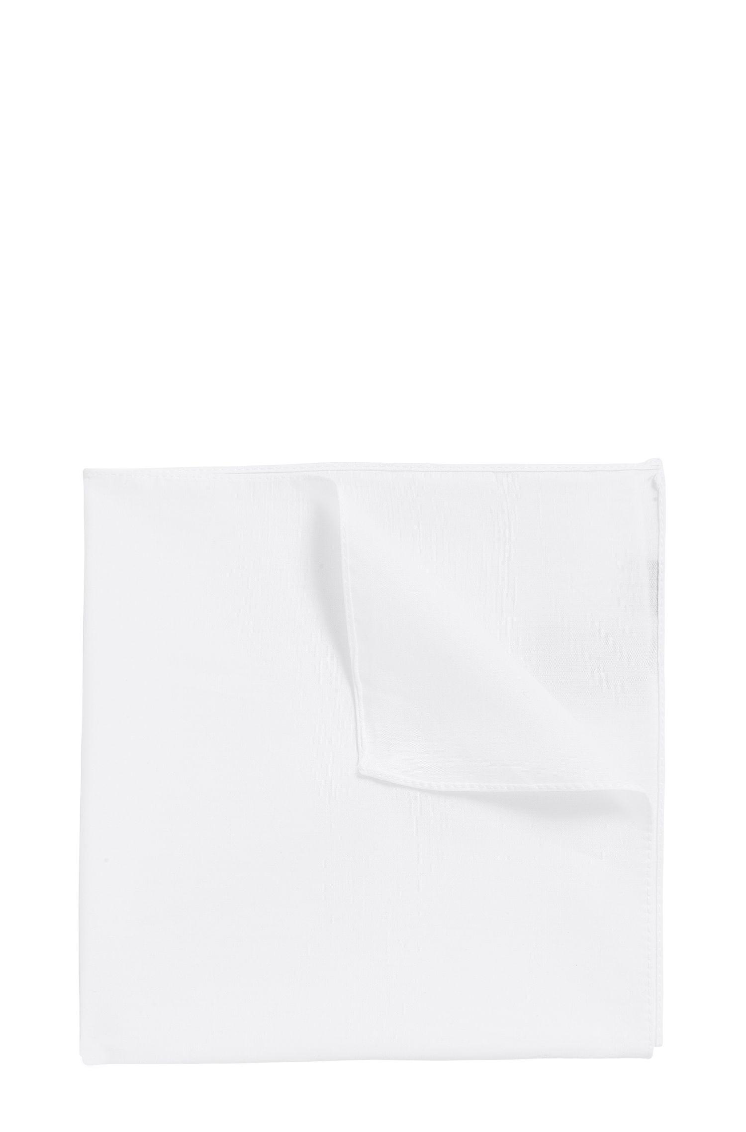 Pañuelo de bolsillo de jacquard en puro algodón