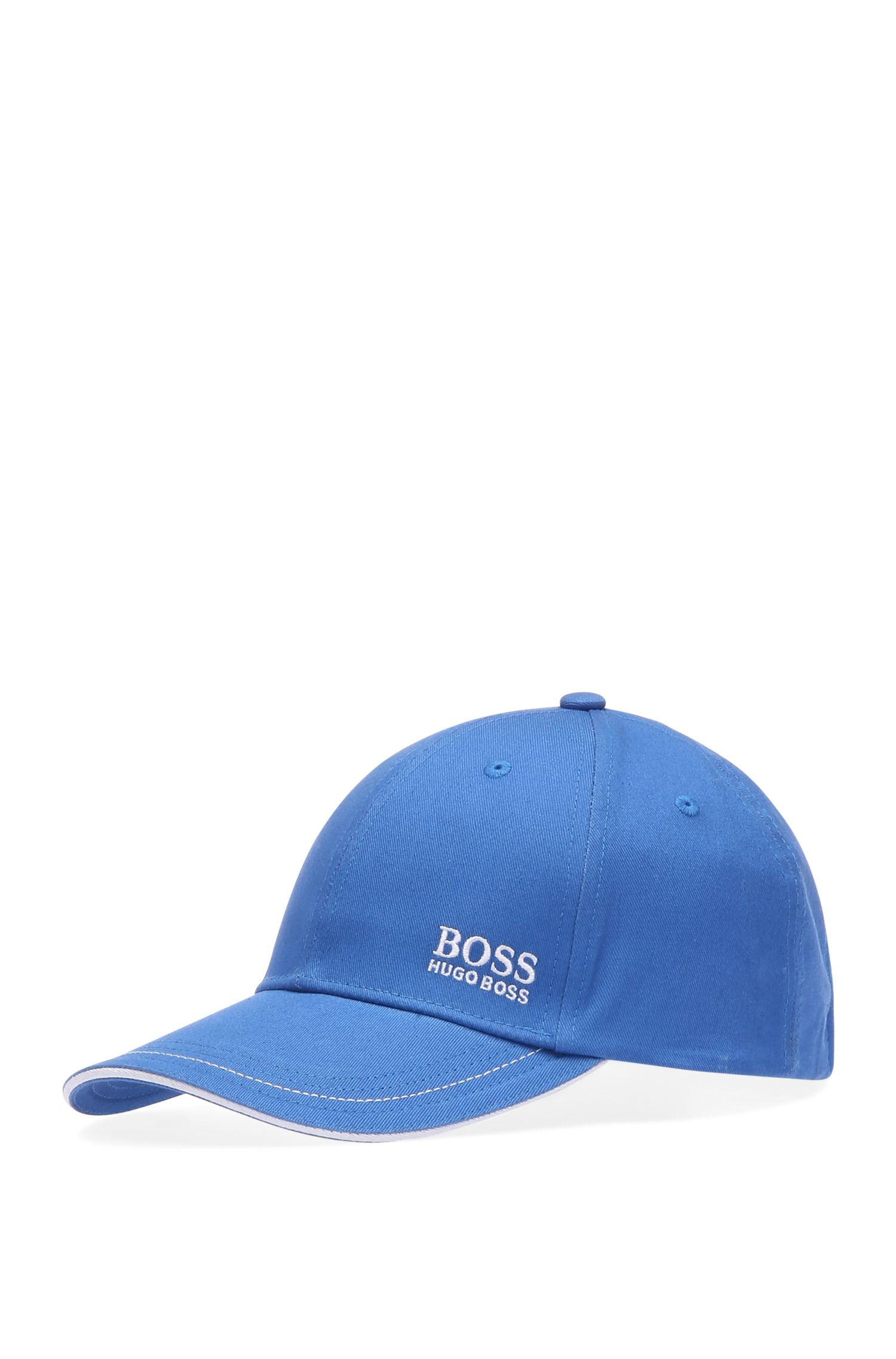 Cappellino da baseball in twill di cotone con logo ricamato