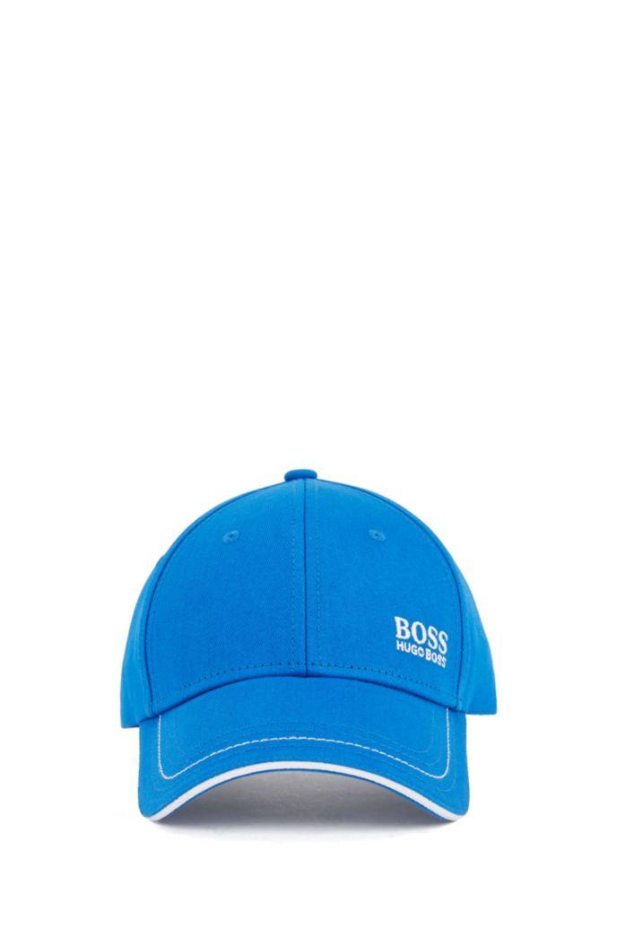 Cap aus Baumwoll-Twill mit gelasertem Logo-Verschluss