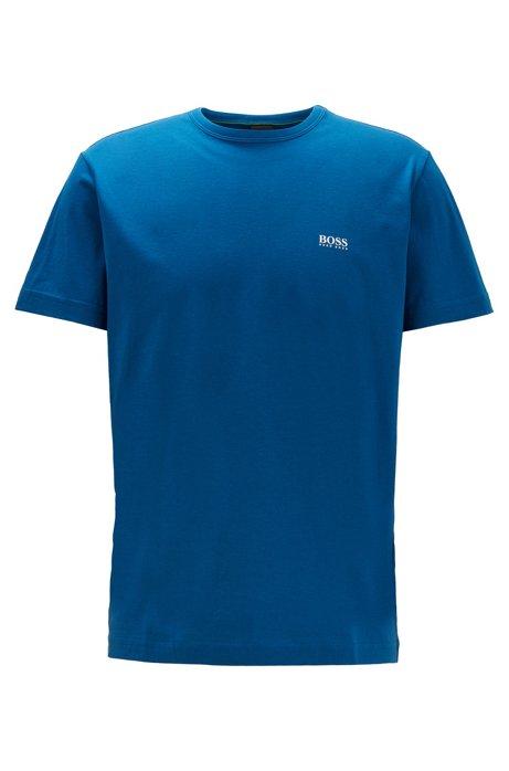 T-Shirt mit Kontrast-Detail, Blau