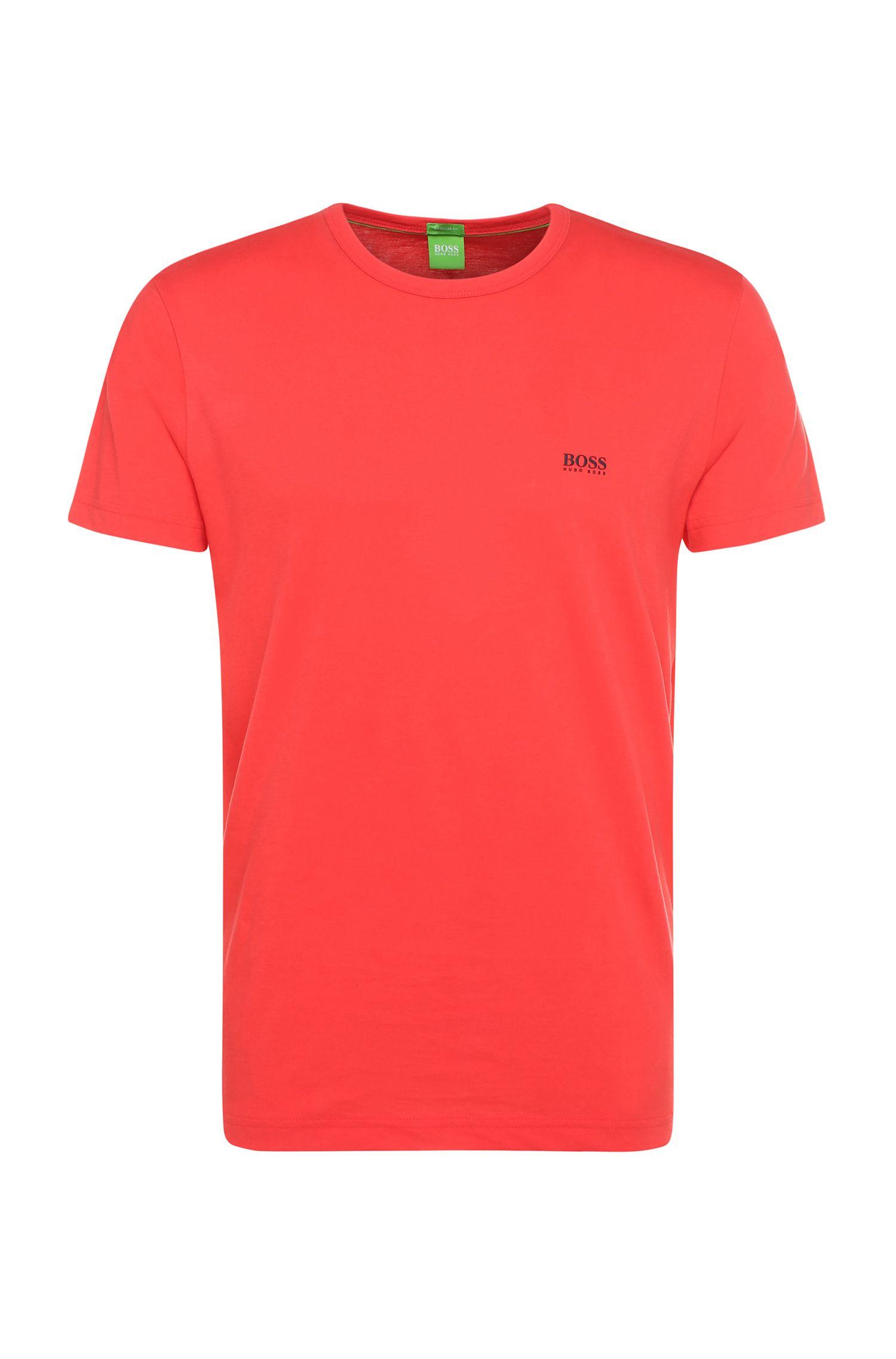 Regular-Fit T-Shirt mit Kontrast-Detail