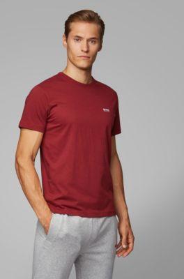 fb4335f2a T-shirt Regular Fit avec détail contrastant